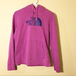 The North Face Maroon Medium hoodie